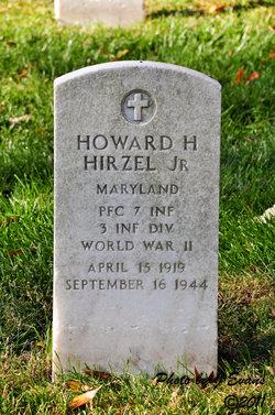 PFC Howard H Hirzel, Jr