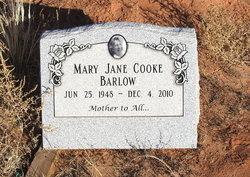 Mary Jane <I>Cooke</I> Barlow