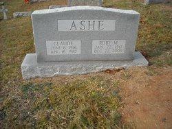 Ruby Marie <I>Gant</I> Ashe