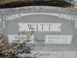 Minnie Mae <I>Mansfield</I> Witt