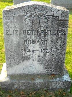 Elizabeth <I>Phillips</I> Howard