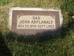 """Johannes """"John"""" Abplanalp"""