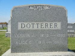 Alice Elizabeth <I>Hoff</I> Dotterer