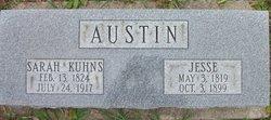 Sarah <I>Kuhns</I> Austin