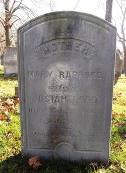 Mary <I>Radford</I> Lord
