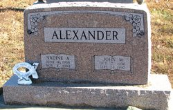 Nadine A. <I>Heimsoth</I> Alexander