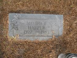 Martha E Harper