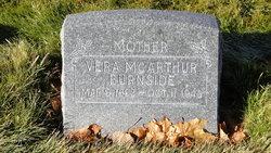 Vera Ermina <I>McArthur</I> Burnside