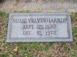 Susie Annette <I>Velvin</I> Harrup