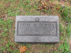 Effie M. <I>Goudy</I> Dorsey