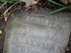 Maria <I>McCammon</I> Alsman