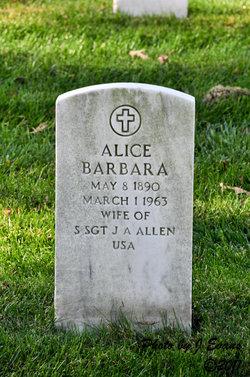 Alice Barbara Allen