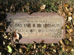 Eva Harriett <I>Valentine</I> Mclaughlin