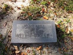 Jennie Cornelia <I>Apple</I> Harp