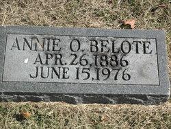 Annie <I>Oliver</I> Belote
