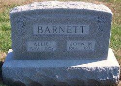 Allie <I>McKee</I> Barnett