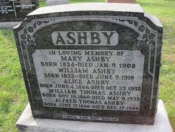 Alice <I>Horan</I> Ashby