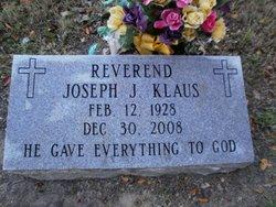 Rev Joseph J Klaus