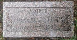 Elizabeth O <I>Handley</I> Phillips