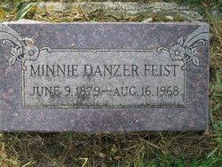 Hermina Minnie <I>Danzer</I> Feist