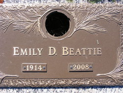 Emily <I>DuPre</I> Beattie