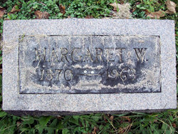 Margaret W Baxter