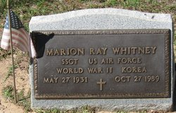 Marion Ray Whitney