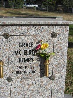 Anna Grace <I>McElroy</I> Hemry