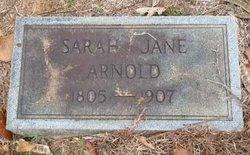 Sarah Jane <I>Allen</I> Arnold