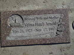 Velma <I>Hatch</I> Arnold
