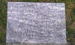 Sarah Ann <I>Warren</I> Wendell