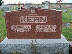 Anna K <I>Ruppright</I> Kern