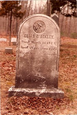 Capt Elias C Ackley
