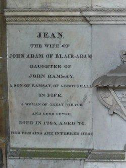 Jean <I>Ramsay</I> Adam