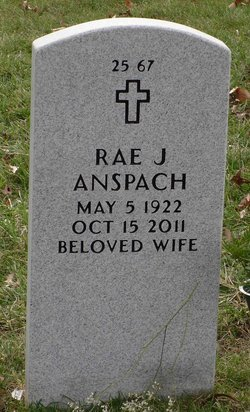"Rae J. ""Betty"" <I>Hicks</I> Anspach"