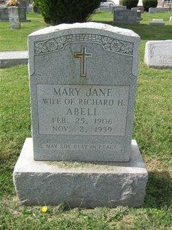 Mary Jane <I>O'Bryan</I> Abell