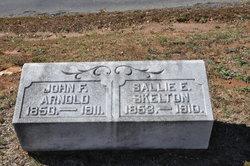 Sallie E <I>Skelton</I> Arnold