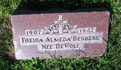 Frieda Almeda <I>DeWolf</I> Benberg