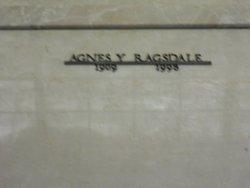 Agnes Geneva <I>Yarborough</I> Ragsdale