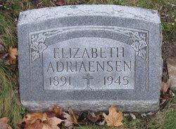 Elizabeth <I>Hoffman</I> Adriaensen