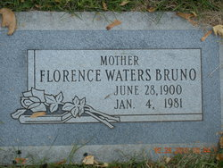 Florence <I>Waters</I> Bruno