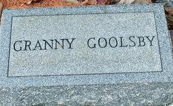 """Martha """"Granny"""" <I>Watson</I> Goolsby"""