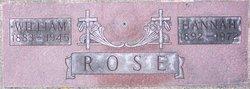 Hannah <I>Johnson</I> Rose