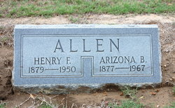 Arizona Bunavista <I>Hicks</I> Allen