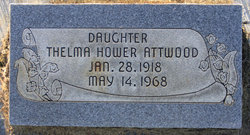 Thelma Mae <I>Hower</I> Attwood