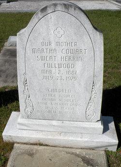 Martha Agnes <I>Cowart</I> Fullwood