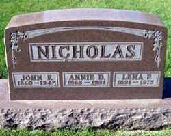 Annie D. <I>Kintner</I> Nicholas