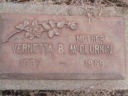 Vernetta Blanche <I>Smith</I> McClurkin