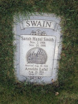 Sarah Hazel <I>Smith</I> Swain