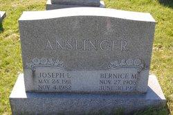 Bernice Mary <I>Cox</I> Anslinger
